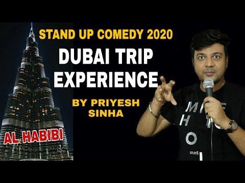 Dubai Trip, Dubai Police & Wife | Stand Up Comedy By Priyesh Sinha