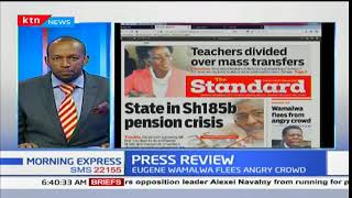 Teachers divided over mass transfers