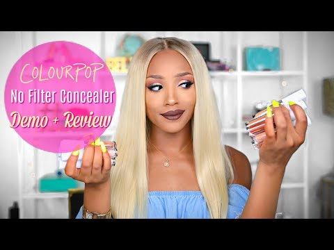 Is it Worth Your COINS?! ColourPop No Filter Concealer Demo + Review