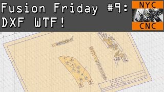 Fusion Friday #9: Convert DXF to 3D Model!