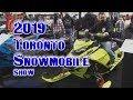 2019 Toronto Snowmobile Show