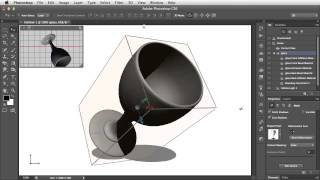 Create Lathed 3D Objects in Photoshop