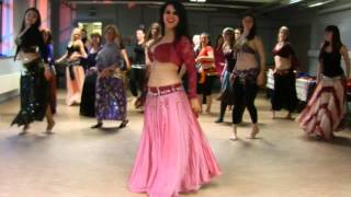 Oul Tani Keda by Nancy Ajram by all the ladies at the Carriageworks Hafla