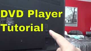 Connect A DVD Player To A TV-How To (Tutorial)