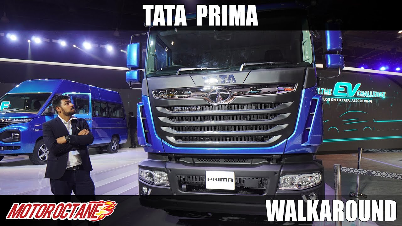 Motoroctane Youtube Video - Tata Prima - Sabse Badi Gaadi @ Auto Expo 2020   Hindi   Motoroctane