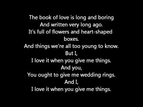 Song The Book Of Love Peter Gabriel