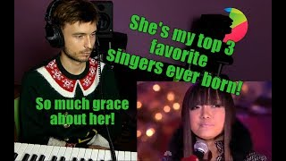 Vocal coach Yazik REACTS to Charice Grown Up Christmas List — 2010 Rockefeller Center Tree Lighting