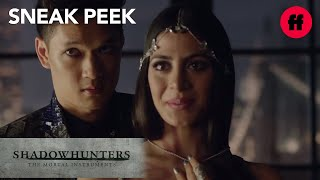 Shadowhunters   Season 1, Episode 4 Sneak Peek: Magnus Points at Alec
