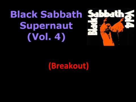 Black Sabbath - Supernaut (Lyrics/Letras)