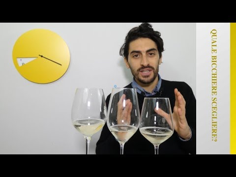 Approfondimento sui calici da vino. Attenzione alle bollicine!!