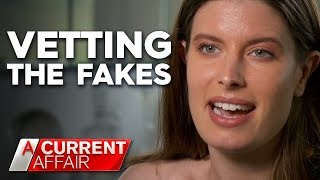 Online dating experts weeding out the fakes | A Current Affair