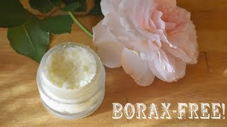 Rose Water Cold Cream {Borax-free Recipe From 1867}