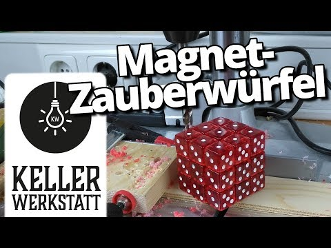 Zauberwürfel selber bauen | Magnete