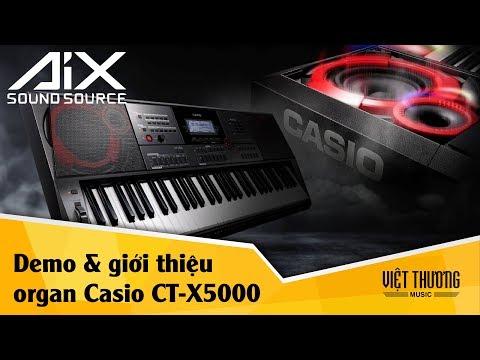 Giới thiệu và demo đàn organ Casio CT-X5000