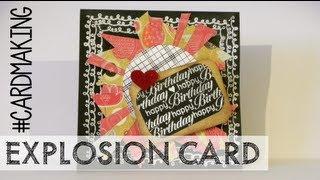 Explosion Card - Happy Bday card