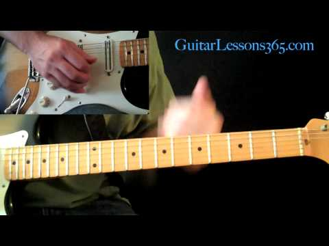 Electric Gypsy Guitar Lesson Pt.3 - Andy Timmons - First Solo