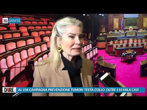AGENZIA DIRE TG SANITA' : PREVENZIONE TUMORI TESTA COLLO