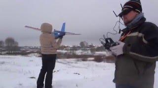 FPV (первые полеты в очках), RC plane