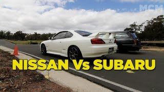 Nissan Vs Subaru Battle