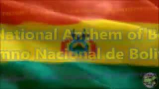 Bolivia National Anthem with music, vocal and lyrics Spanish w/English Translation