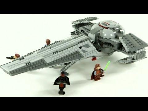 Vidéo LEGO Star Wars 7961 : Darth Maul's Sith Infiltrator
