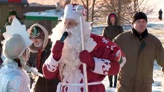 Новгородский клуб любителей зимнего плавания отметил предстоящие праздники по-спортивному
