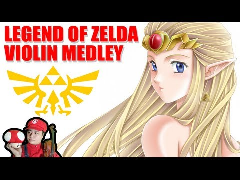 Legend of Zelda - A capella + skrzypce