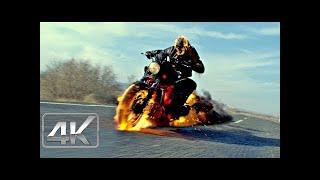 Ghost Rider Vs Blackout / Persecución En el Camión | LATINO (4k-HD) | Espíritu de Venganza