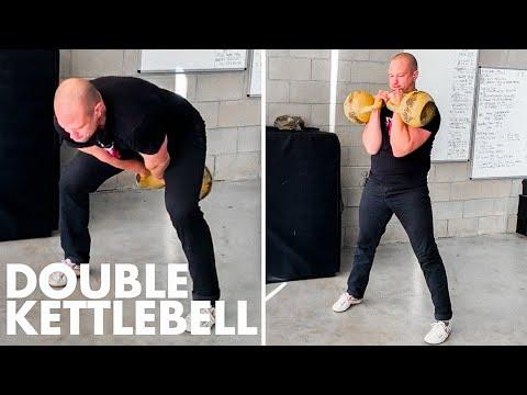 Kettlebell Double Clean