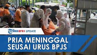 Hendak Urus BPJS, Pria di Semarang Tiba-tiba Meninggal di Pangkuan sang Istri, Anak Turut Melihat
