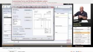 """Customizing Forms & Writing QuickBooks Letters"" | QuickBooks with Educator.com"
