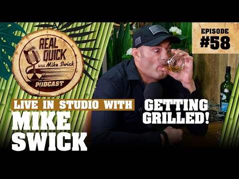 #58 – Mike Swick: Getting Grilled! – Real Quick With Mike Swick Podcast