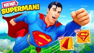 SUPERMAN *UNLOCKED* in Fortnite! (Challenges Complete)