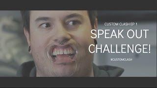 SKATEHUT SPEAK OUT CHALLENGE customclash