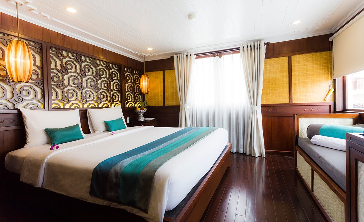New Cabin New Look of Bhaya Classic in Halong Bay