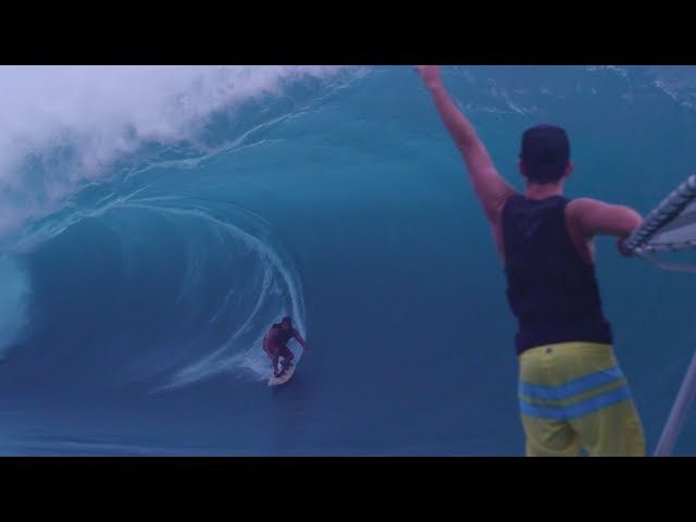 Surfing the Heaviest Wave in the World - Teahupoo