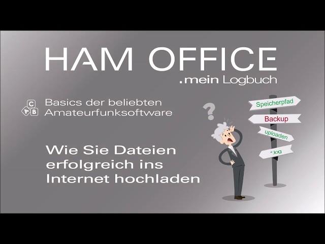 Youtube-Startbild zu HAM OFFICE Basics: ADIF-Dateien in das Internet hochladen