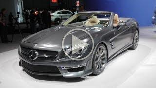 [RoadandTrack] 2013 Mercedes-Benz SL65 AMG @ 2012 New York Auto Show