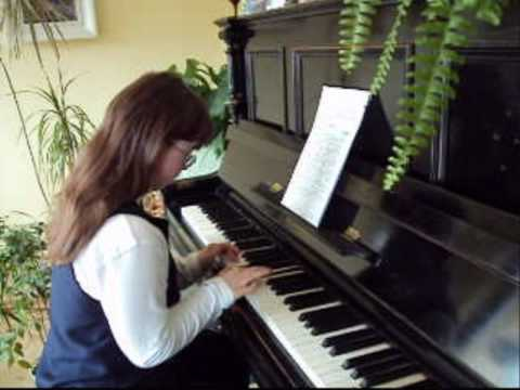 Ver vídeo Down Syndrome Girls plays Chopin