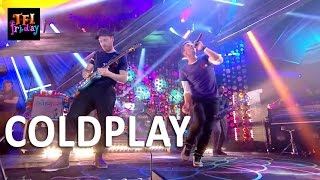 "[HD] Coldplay - ""Adventure Of A Lifetime"" 11/6/15 TFI Friday"