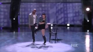 dance Fik Shun and Amy Hip Hop Lemme See SYTYCD Season 10