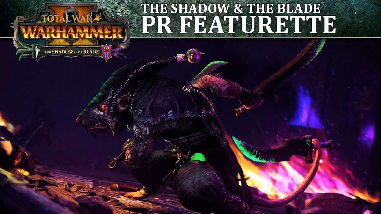 Disponibile il DLC The Shadow and The Blade di Total War: Warhammer II