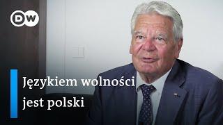 """B prezydent Niemiec: """"Językiem wolności w Europie jest Polski"""""""