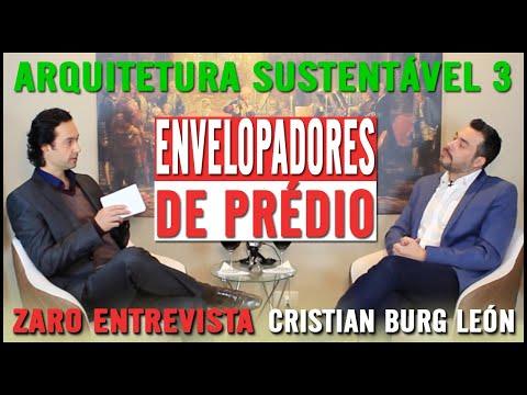 ARQUITETURA SUSTENTÁVEL   PARTE 3/3   CRISTIAN BURG LEON   PROGRAMA EXPERIÊNCIAS DE VIDA