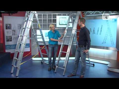 ZARGES Mehrzweckleitern bei Betriebseinrichter TV