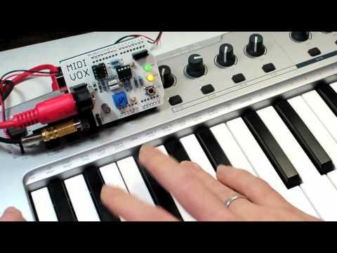 MidiVox – The $26 Synthesizer For Arduino – Synthtopia
