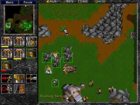 warcraft 2 tides of darkness pc cheats
