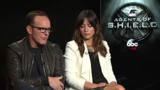 Chloe Bennett & Clark Gregg - 03/03/2015 - Marvel Entertainment
