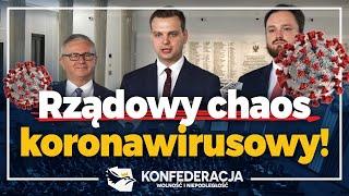 Cynizm i brak wiarygodności PiS ws. koronawirusa!