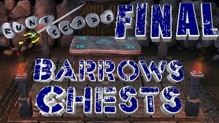 Runescape 2007 - Loot From 1,000 Barrows Chests - HUGE PROFIT!